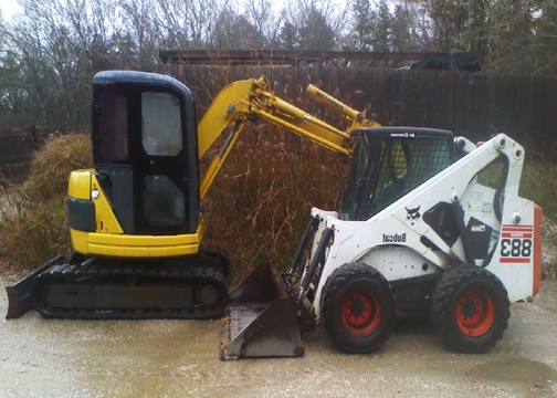 Bobcat  & Excavator Service, Clearing Excavation, Trenching, Brush Mowing Land Clearing