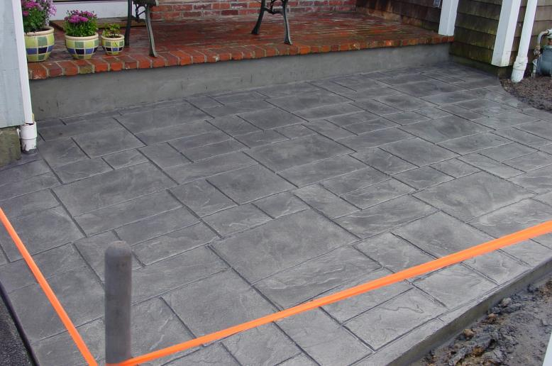 pinterest stamped concrete patios cement patio and stamped concrete